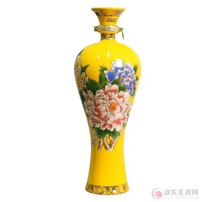 52度西凤酒国花瓷珍品30年500mlx4瓶图片