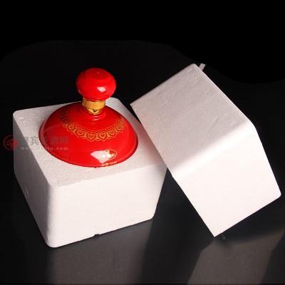 礼盒装52度泸州原浆老窖农红坛 喜酒1100ml图片