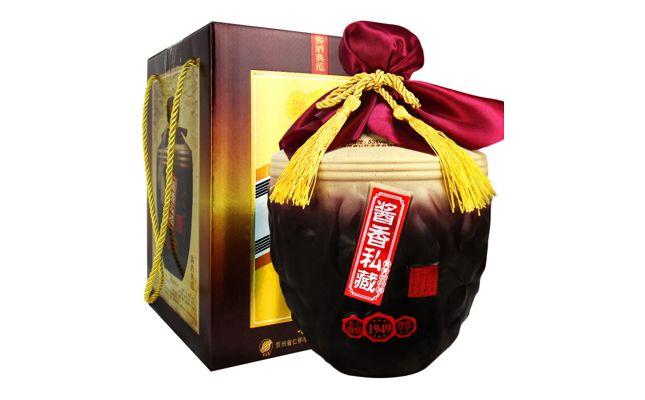 礼盒装53度贵州茅台镇酱香私藏1949 1500ml图片