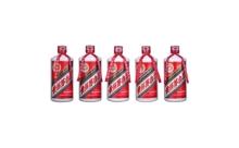 2006-2010年53度茅台飞天500mlx5瓶