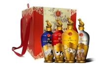 礼盒装52度五粮液戊戌狗年纪念酒500mlx4瓶