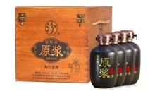 53度杏花村宝泉涌陶坛老酒475mlx4瓶