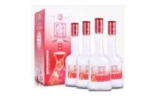 礼盒装52度孔家府藏红柔和 500mlx4瓶