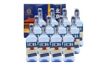 42度永丰牌北京二锅头蓝瓶白酒一箱