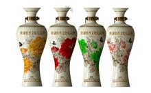 礼盒装52度杜康牡丹文化礼品酒MD3 160ml