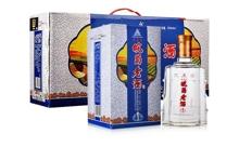 2012年42度五糧原漿三星老酒500mlx4瓶