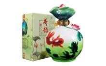 礼盒装45度山西杏花村汾酒荷韵年年有鱼大坛酒2.5L