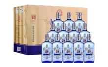 42度北京永丰牌二锅头原浆蓝瓶白酒一箱