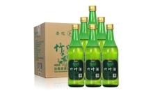 45度杏花村粮食酿造竹叶白酒一箱