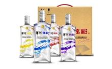 50度洋河炫彩 白酒 480mlx4瓶