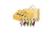 礼盒装52度杜康牡丹文化礼品酒MD5 100mlx5瓶