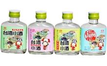 52度寶島阿里山臺灣小酒110mlx4瓶