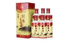 52度精品瓷瓶三花酒米香型白酒一箱
