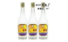 2011年60度杏花村出口汾酒500mlx3瓶