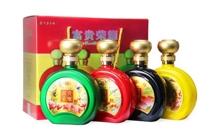 礼盒装52度贵州茅台镇富贵荣耀 白酒500mlx4瓶