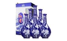 52度北京红星二锅头珍品蓝花瓷一箱