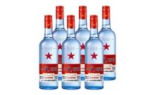 53度北京红星二锅头蓝瓶绵柔8酒一箱