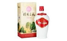 52度桂林三花酒珍品瓷瓶装米香型白酒450ml