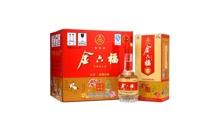 礼盒装52度金六福酒三星前程似锦白酒一箱