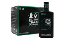 42度永丰牌黑瓶绿标北京二锅一箱