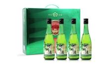 38度杏艺竹叶露酒 450mlx4瓶