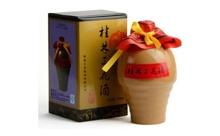 55度米香型白酒陶瓶特酿桂林三花酒500ml