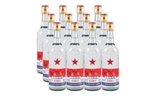 65度红星二锅头白瓶一箱