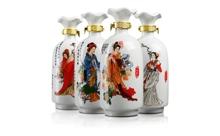 2014年52度白水杜康蓝韵国宴(四大美人)1lx4瓶
