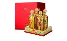礼盒装52度茅台白金原浆酒V90龙腾四海白酒500mlx4瓶