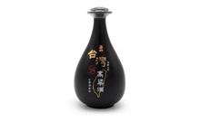 58度黑瓷瓶台湾玉山高粱酒酒龄三年500ml