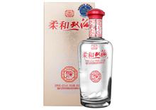42度柔和双沟银瓶酒450ml
