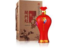 60度湘泉酒业开门红酒(小梅瓶)1.5L