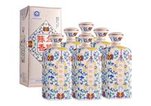 50度蘭陵瓷瓶陳香酒一箱