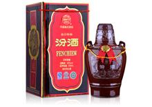 45度2008-2009年汾酒老白汾十年陈酿酒500ml
