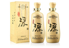 53度汾酒白玉坊源酒(2瓶)1.1L