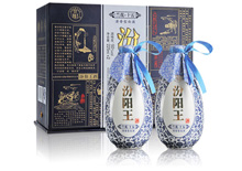 50度汾阳王兰花15礼盒升级版酒225ml