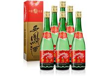 55度西凤酒绿瓶酒一箱