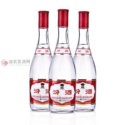 42度红盖汾酒玻汾475mlx3瓶图片