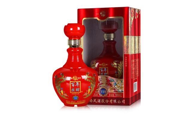 凤酒厂_52度西凤酒百年凤牌v18500ml价格及图片,多少钱-迎宾美酒网