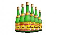 2012年45度太白酒磨砂瓶一箱
