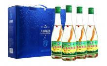 礼盒装38度杏艺人参枸杞酒礼品425mlx4瓶