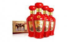 52度贵州茅台镇含金原浆老酒500mlx4瓶
