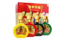 礼盒装52度贵州茅台镇富贵荣耀白酒500mlx4瓶