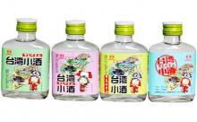 52度宝岛阿里山台湾小酒110mlx4瓶