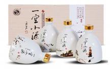 礼盒装52度武酒一空小酒100mlx4瓶