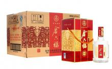 礼盒装45度金六福酒经典四星白酒一箱