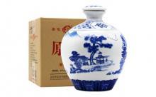 53度山水瓷瓶杏花村酒 1500ml