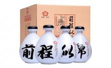 53度杏花村镇前程似锦原浆酒500mlx4瓶