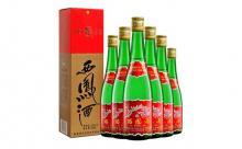 55度高脖绿瓶盒装西凤酒一箱