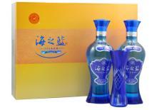 52度洋河蓝色经典海之蓝礼盒装酒960ml